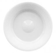 Тарелка квадратная 27 см, плоская, фарфор, peppery